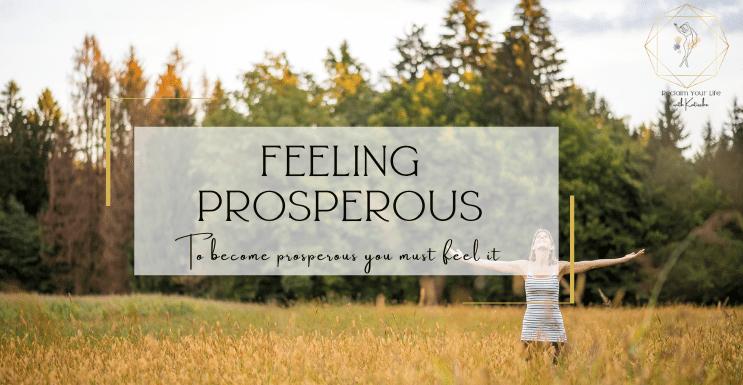 feeling prosperous