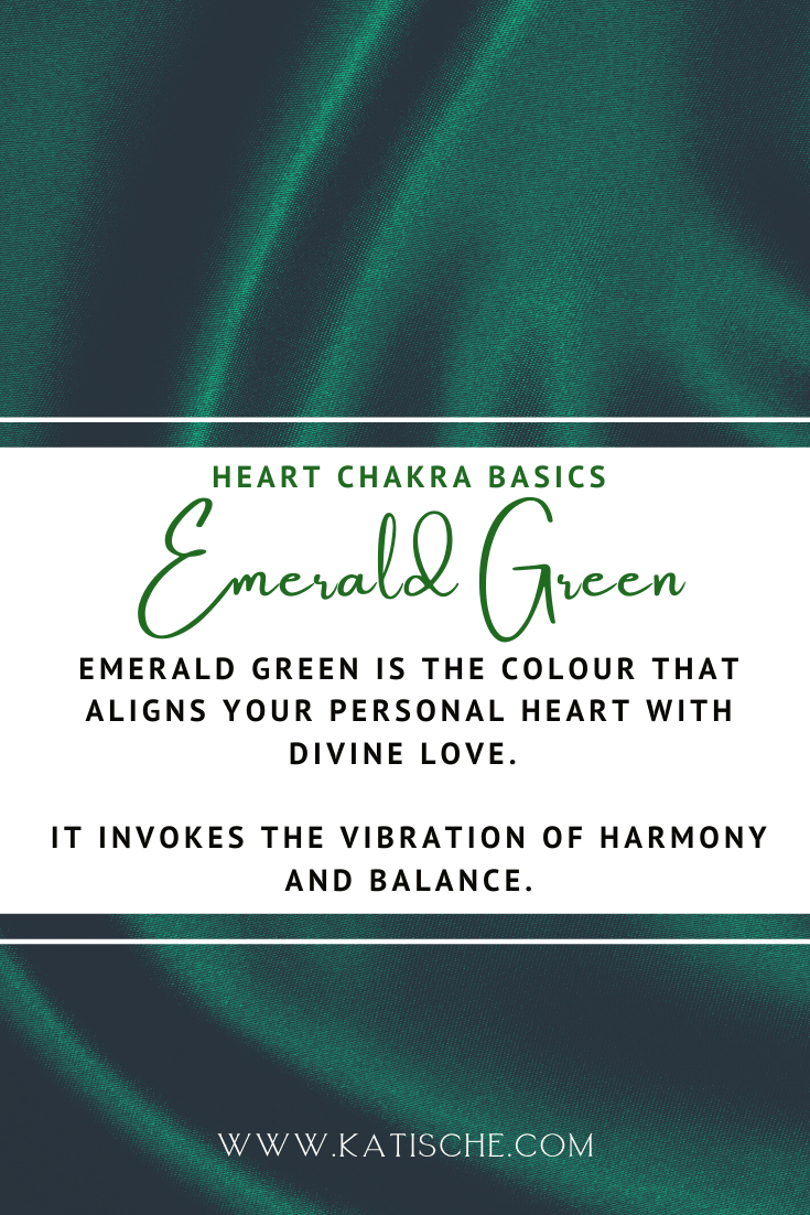 heart chakra colour therapy