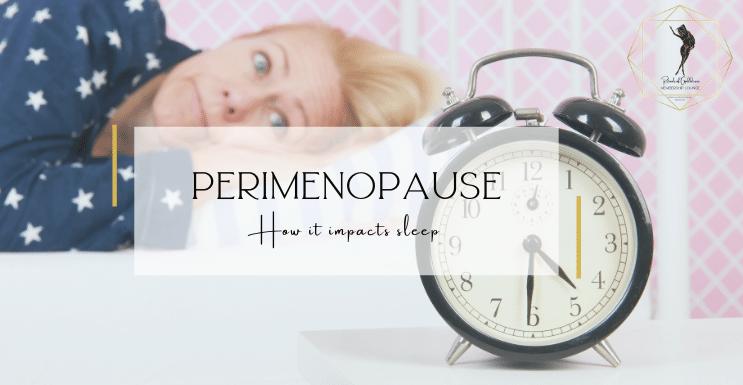 perimenopause sleep